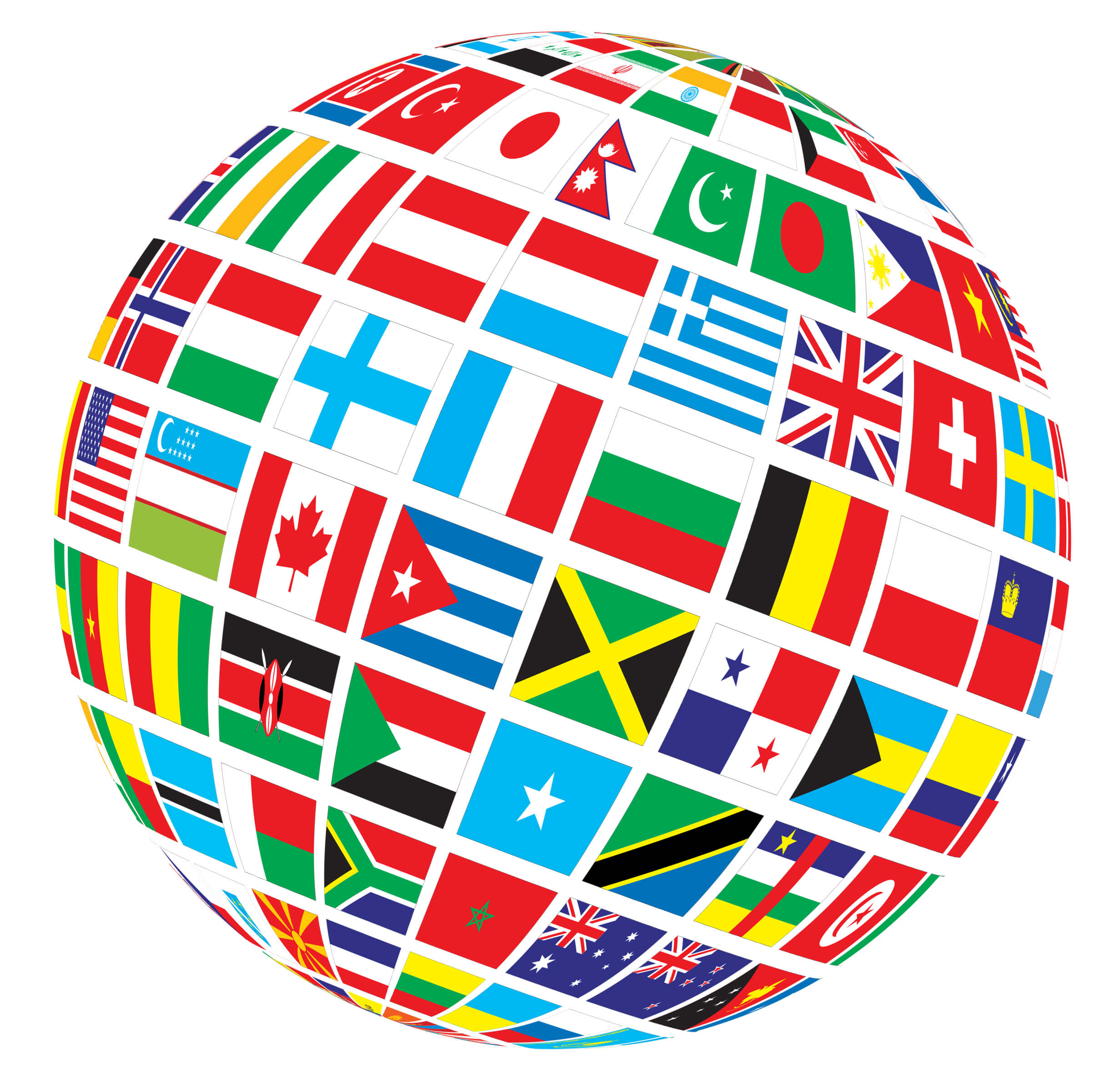 World-Flags-Globe